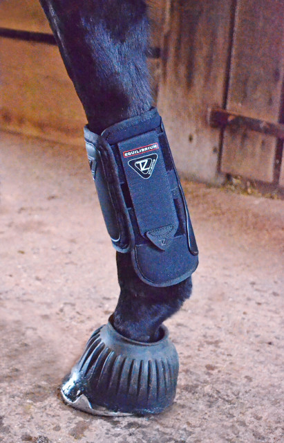 Mia models the Equilibrium Tri-Zone Impact Sports Boot. Photo by Jenni Autry.
