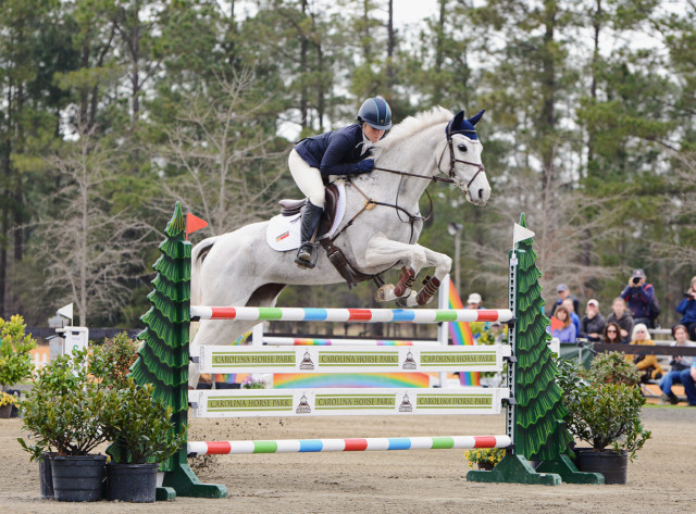 Caitlin Silliman and Catch A Star. Photo by Jenni Autry.
