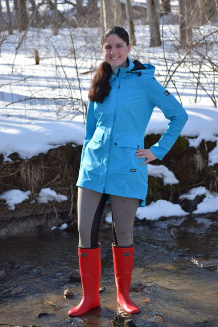 Even after I'm on my feet for a good chunk of the day, my feet still feel comfortable when they are wearing the Norse boots. Not to mention the fact that the bright red color is just plain awesome in my book - Photo by Lorraine Peachey