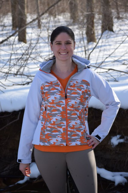 The Performance Softshell Jacket itself is a 3-layer softshell is both water and wind resistant, to help shelter the wearer from those blustery, and potentially shower filled days of Spring - Photo by Lorraine Peachey