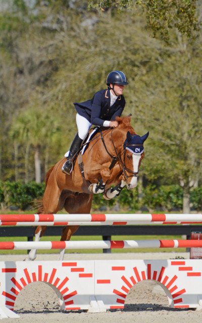 Lauren Kieffer and Czechmate. Photo by Jenni Autry.