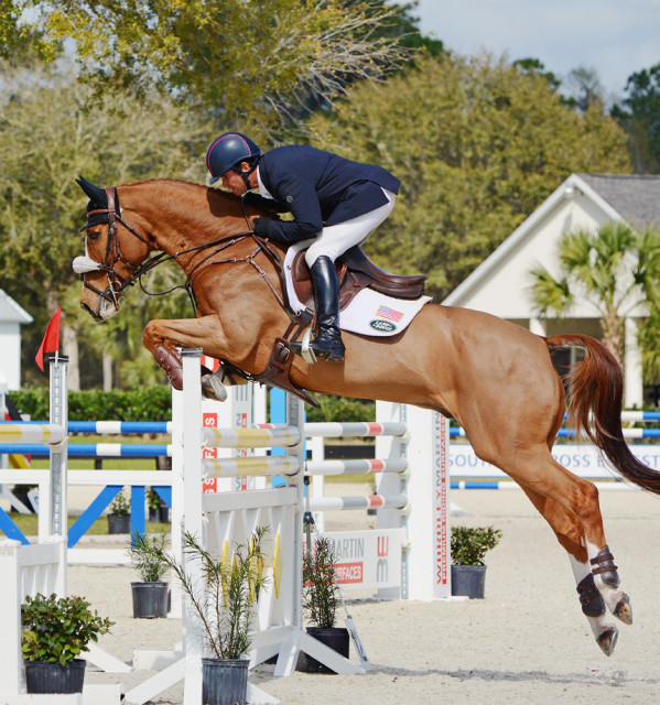 Phillip Dutton and Mr. Medicott at the $15,000 Eventing Prix Invitational. Photo by Jenni Autry.