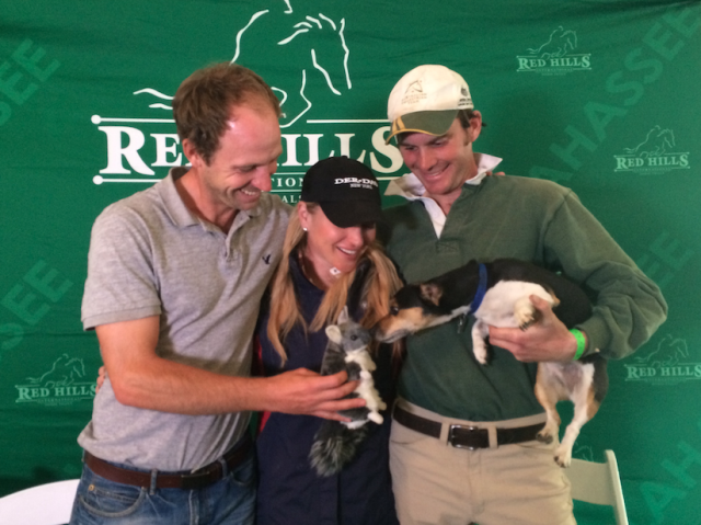 Spring means love is in the air. Chinch has a crush on Ryan Wood's dog Snoopy, or Snoop Dogg as he's better known.  Your 2* leaders at Red Hills: Tik Maynard, Marilyn Little, Ryan Wood.