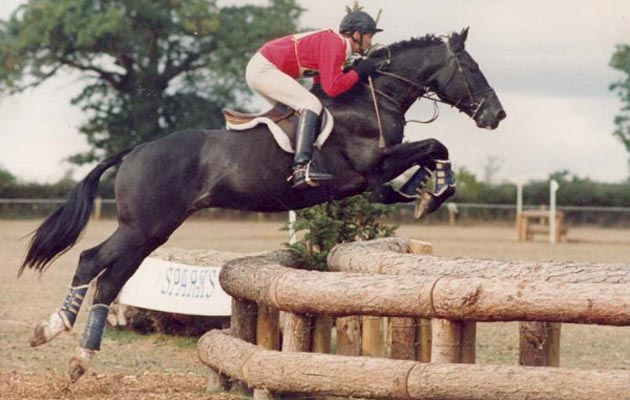 Andrew Nicholson and Jumbo. Photo courtesy of Grafham Stud.