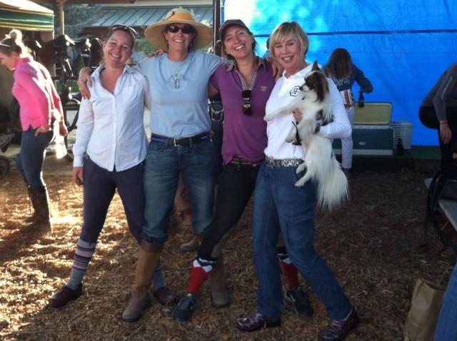 "ATC Training Team ""Fearsome Foursome"" of Ronnie Thielmann, Kari Scoggins, Leslie May-LaBraque and Tristen Hooks. Photo courtesy of Dawn Robbins."