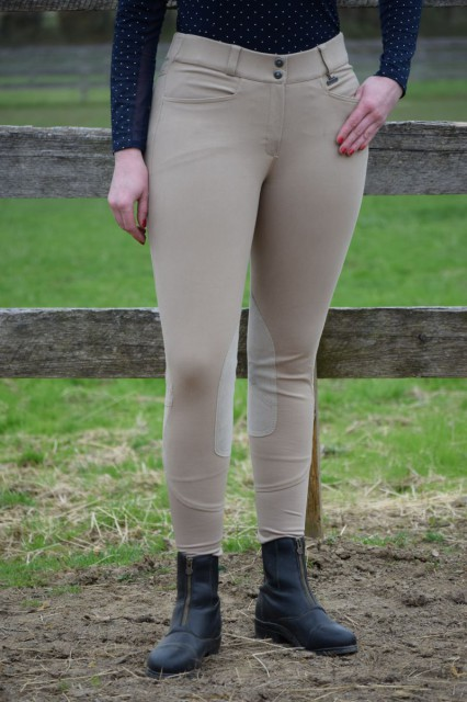 The Performance breeches offer the same great fit that hug and flatter my curves, but they do so with the help of a technical, high performance woven fabric - Photo by Lorraine Peachey