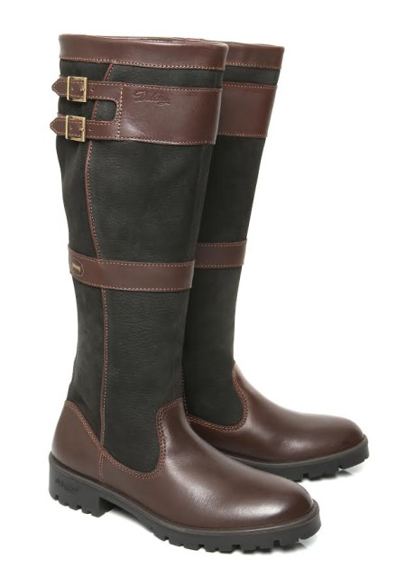 The stylish new Dubarry Longford boot in black and brown.