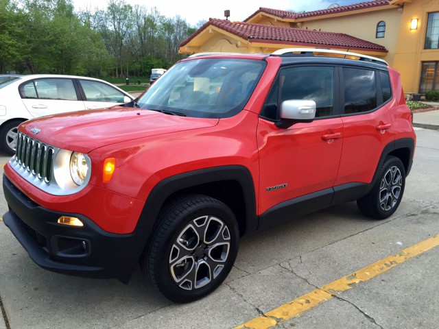 The 2015 Jeep Renegade. Photo by Sally Spickard.