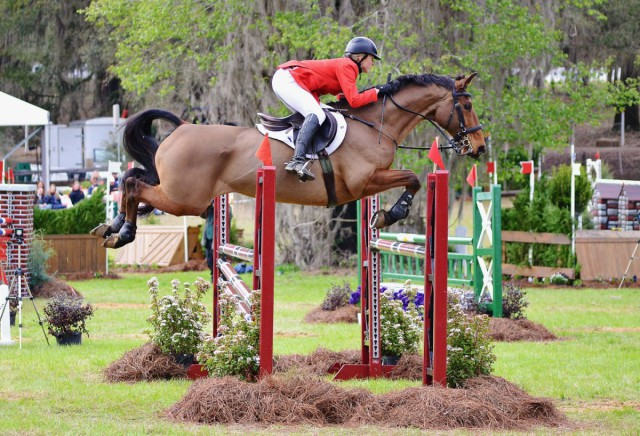 Jessica Phoenix and Abbey GS at Red Hills. Photo by Jenni Autry.
