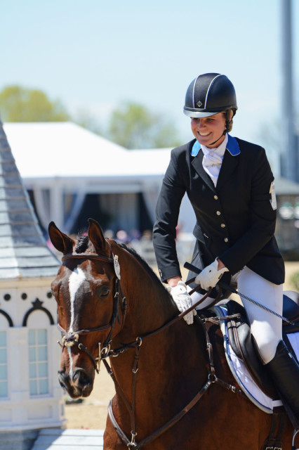 Jordan Linstedt and Revitavet Capato. Photo by Jenni Autry.