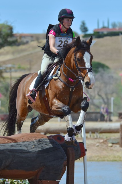 Kimmy Steinbuch and Ruth Bley's Spartacus D'L'Herbage make easy work of the CCI*, leading from start to finish. Photo courtesy Sherry Stewart.