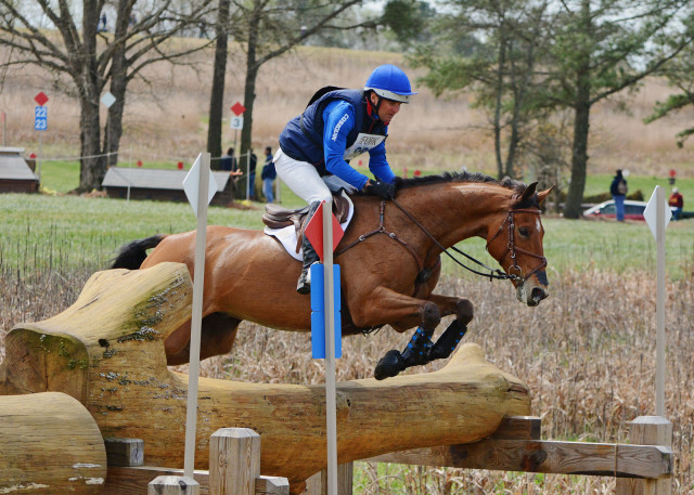 Phillip Dutton and Fernhill Fugitive. Photo by Jenni Autry.