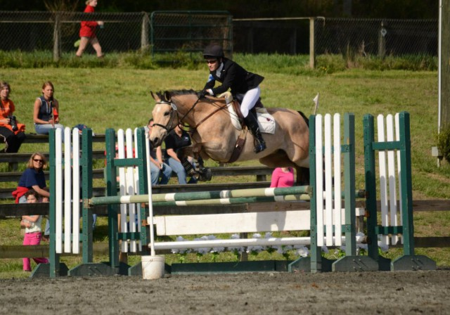 Katharine Stancliff and Poppyfields Tristan at FENCE. Photo courtesy of Nathan Stancliff.