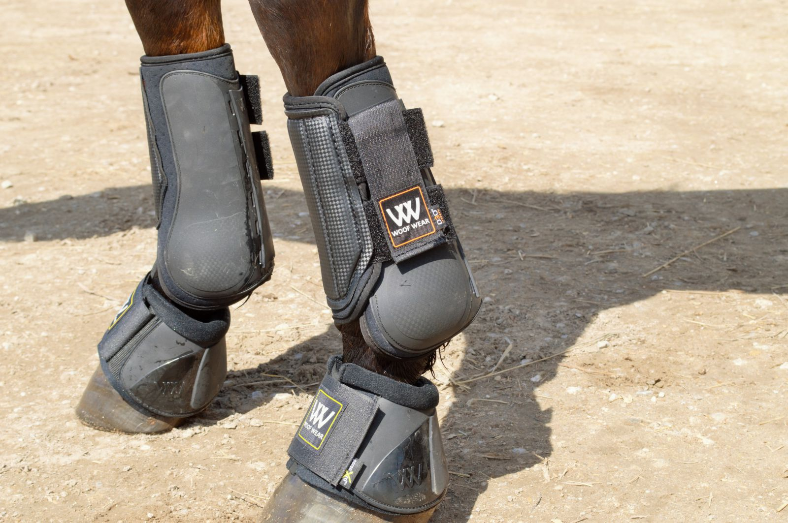 Details about  /Woof Wear Smart Event Horse Front Boots Medium Great Condition Equine