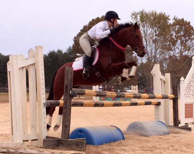 Becca and Cajun show off their springs. Photo courtesy of Becca Willner.