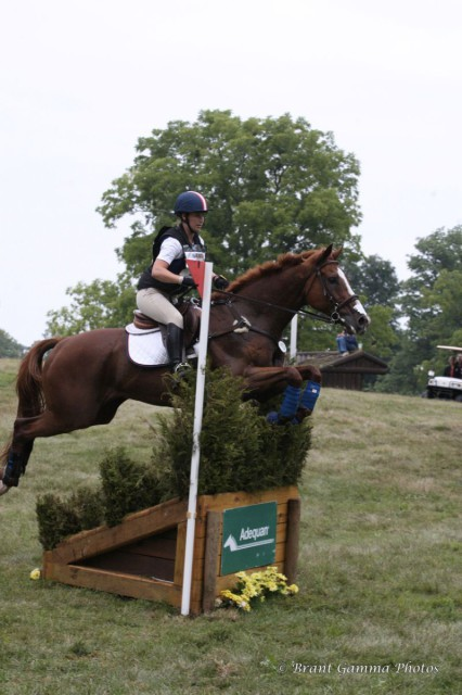 Lexi Scovil and Sky Show at NAJYRC in 2012. Photo by Brant Gamma.