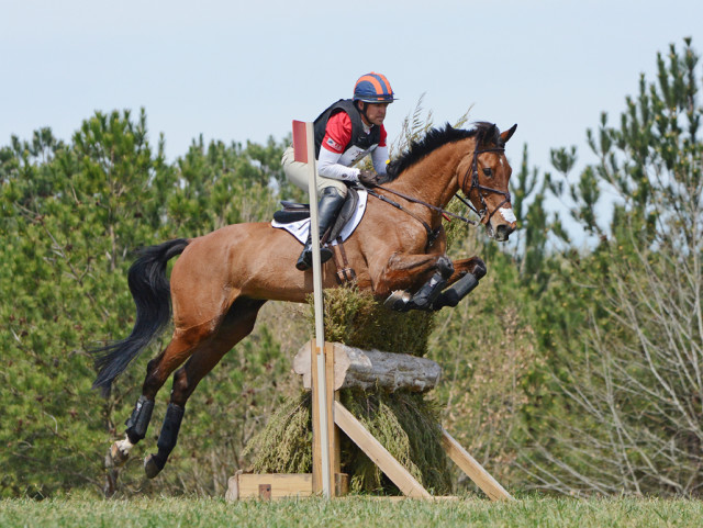 Buck Davidson and Ballynoe Castle RM. Photo by Jenni Autry.