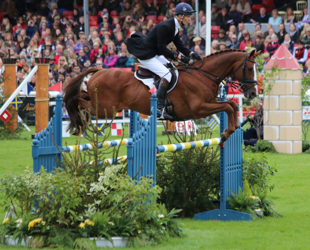William Fox-PItt and Chilli Morning jump an immaculate clear to take the title. Photo by Samantha Clark.