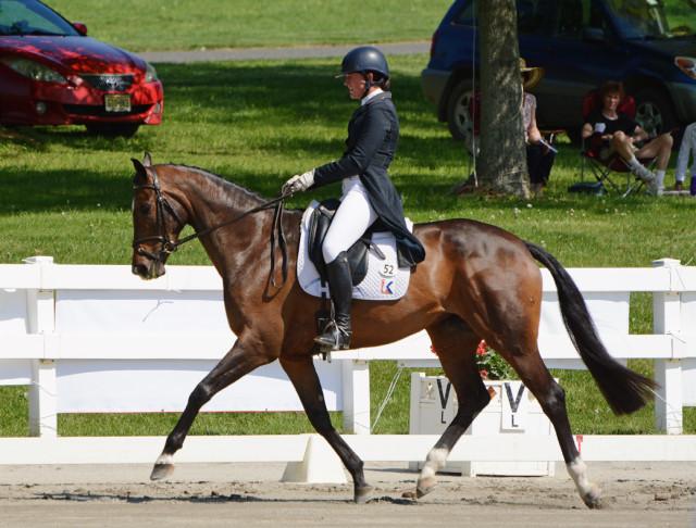 Lauren Kieffer and Meadowbrook's Scarlett. Photo by Jenni Autry.