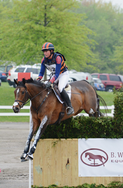 Lauren Kieffer and Meadowbrook's Scarlett. Photo by Jenni Autry.