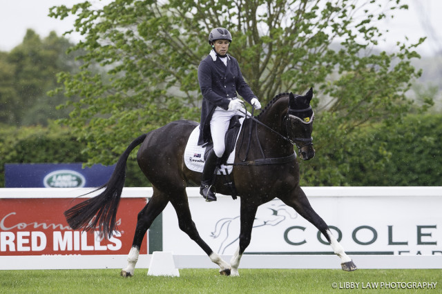 Tattersalls CCI3* leaders Sam Griffiths and Favorit Z. Photo by Libby Law Photography.