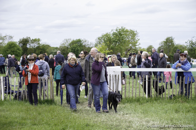 Spectators were out in droves on Tattersalls cross country day. Photo by Libby Law Photography