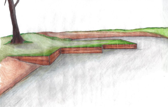 Concept drawing of new water box. Drawing by Tim Foley.
