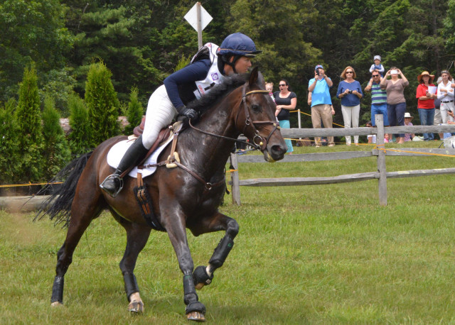 Babette Lenna rides her own Marketscan in the I/P division. Photo by Abby Powell.