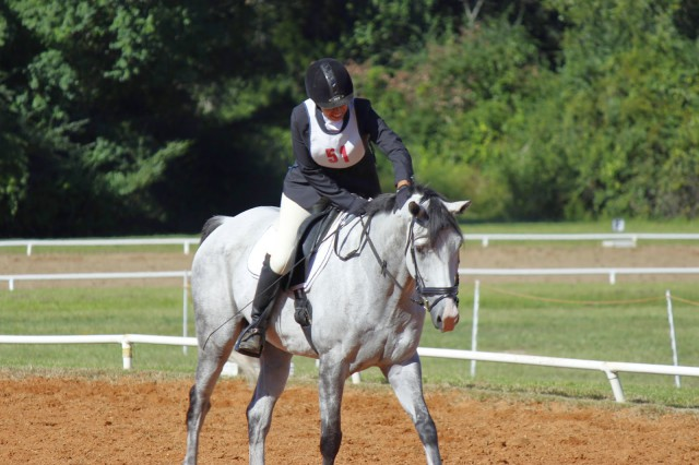 Jeanette and Panda competing at Pine Hill. Photo via 14 Hands and Counting