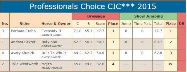 CIC 3 star scores SJ