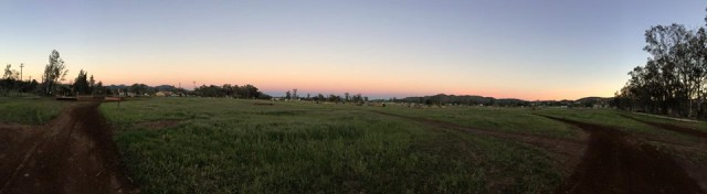 Sunset on XC at Copper Meadows. What eventer doesn't love this view?? Photo by Copper Meadows.