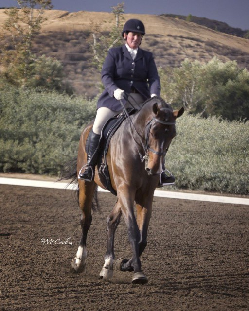 Gina Economou and Calidore. Photo by McCool Photography.