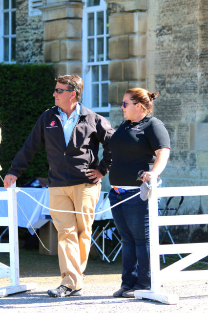 Shannon Kinsley and David O'Connor at Bramham. Photo by Samantha Clark.