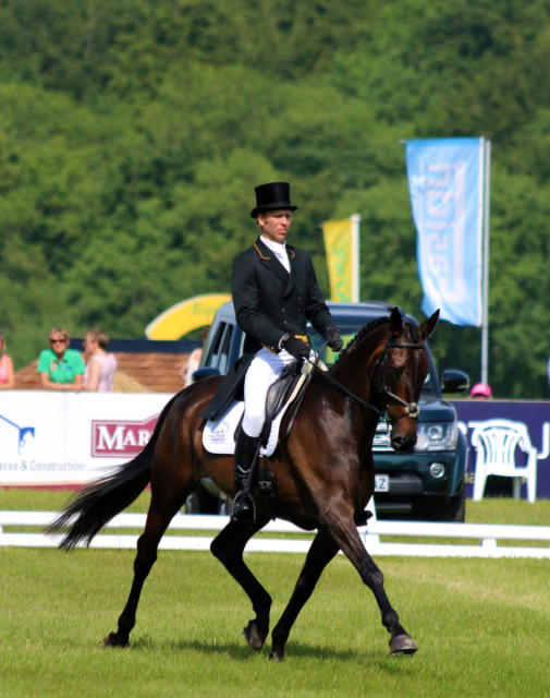 Nick Gauntlett and Crown Talisman Photo by Samantha Clark