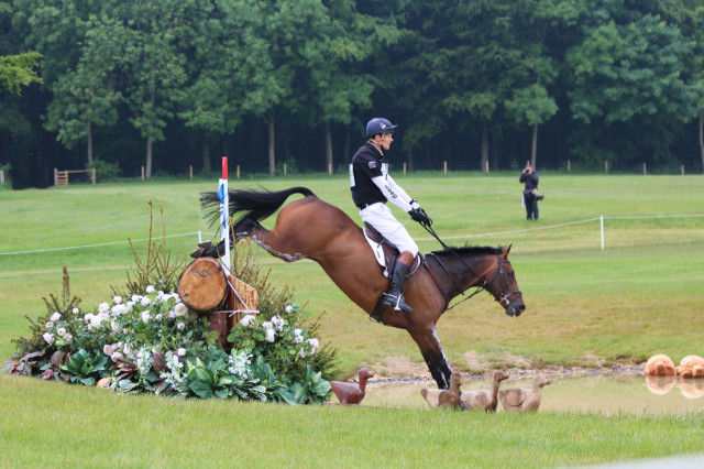 William Fox-PItt and Catherine Witt's Fernhill Pimms moves into 2nd place overnight at Equitrek Bramham CCI3*