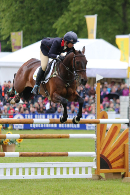 Kitty King and Persimmon who didn't put a foot wrong  all weekend to finish 2nd in the CCI3*