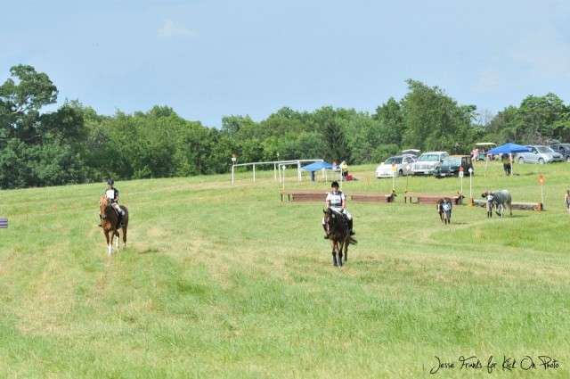 Riders enjoy the scenery at Queeny Park. Photo courtesy of Kick On Photo.