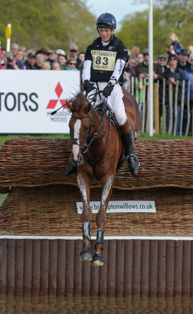 William Fox-Pitt and Chilli Morning at Badminton. Photo by Nico Morgan.