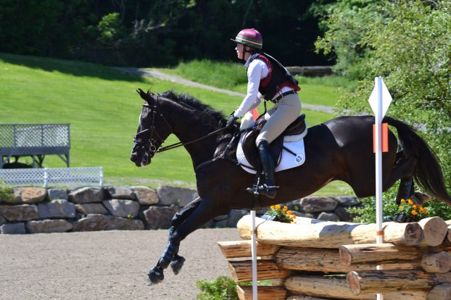 Ariel Grald and GHF Jonah, 7th place. Photo by Leslie Wylie.