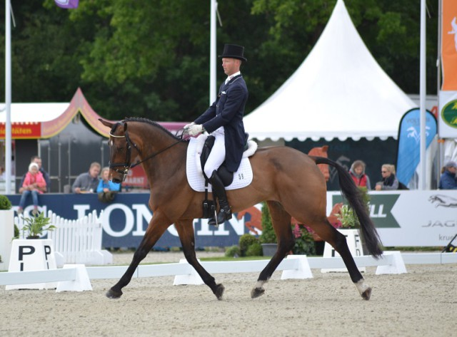 Clark Montgomery and Loughan Glen (USA). Photo by Leslie Wylie.