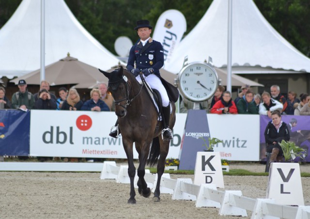 Michael Jung and fischerRocana FST (GER). Photo by Leslie Wylie.