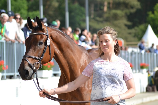 Rebecca Howard and Riddle Master (CAN). Photo by Leslie Wylie.