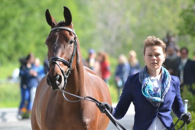 Sarka Kolackova de Men and Sir Royal. Photo by Leslie Wylie.