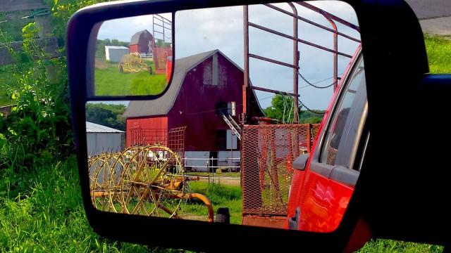 Farmyard full of work.