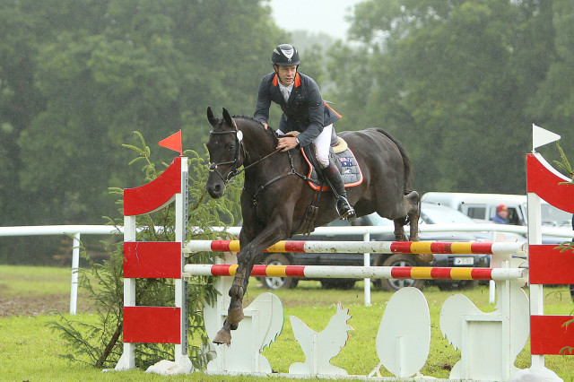 Chris Burton and Santano II won the CCI2* at Camphire on. Photo used with permission from Dan McGrath.