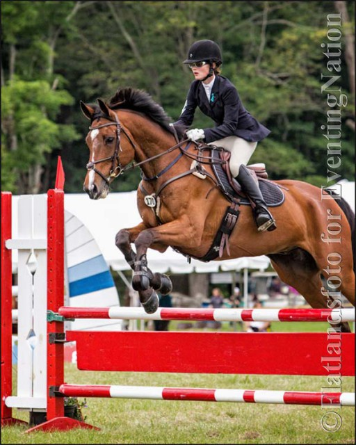 Magdalene Meek and Otto won the Junior Open Training division. Photo by Joan Davis/Flatlandsfoto.