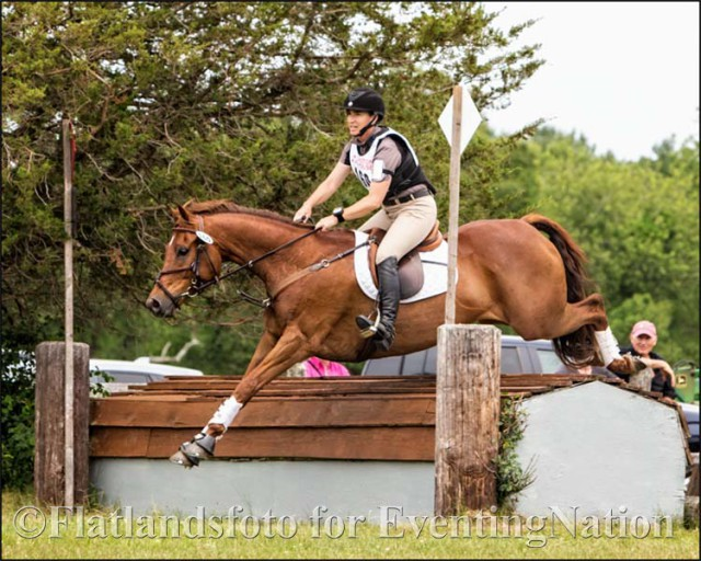 Kate Rakowski and Ciderhouse Jack won the Preliminary/Training division. Photo by Joan Davis/Flatlandsfoto.