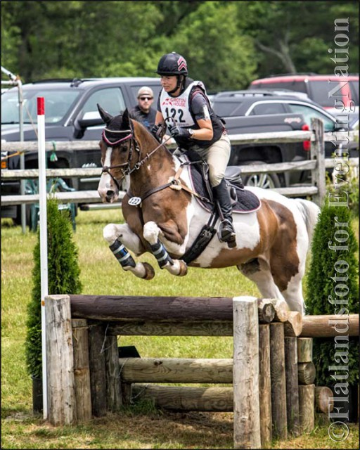 Erin Renfroe and DeCordova won the Intermediate/Preliminary division. Photo by Joan Davis/Flatlandsfoto.