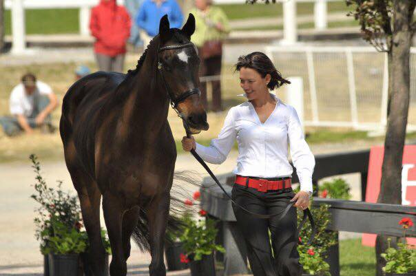 Tamie Smith and Chaos Theory at Rolex. Photo via Tamie Smith's FB page.
