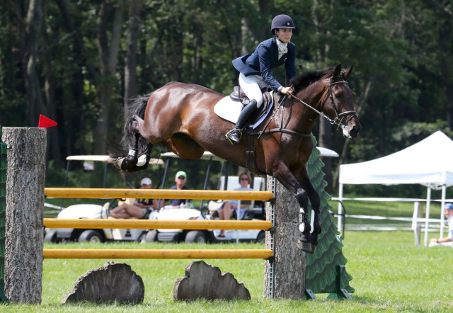 Jenny Caras and Fernhill Fortitude. Photo by Kasey Mueller/Rare Air Photography.